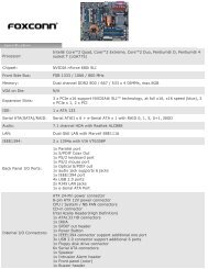 Foxconn - Products: Motherboard - OSCS
