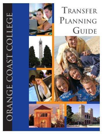 Transfer Planning Guide - Orange Coast College