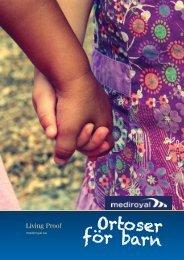 Ortoser för Barn (PDF) - Mediroyal