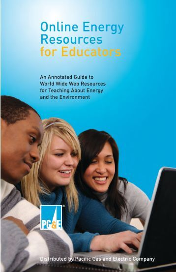 Online Energy Resources for Educators