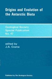 Origins and Evolution of the Antarctic Biota