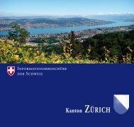 Geschichte Kanton Zürich