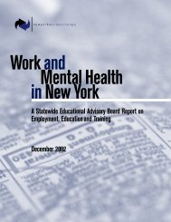 A Statewide Educational Advisory Board Report on Employment ...