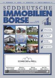 wohnungen häuser grundstücke sonstige ... - Schneider & Prell