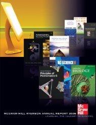 2003 Annual Report SAMPLE - McGraw-Hill Ryerson