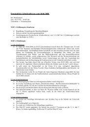 Protokoll 10-06-2008 - Gymnasium Altenholz