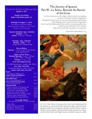 August 4, 2013 Bulletin - St. Joseph Parish