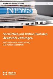 Social Web auf Online-Portalen deutscher Zeitungen - Nomos