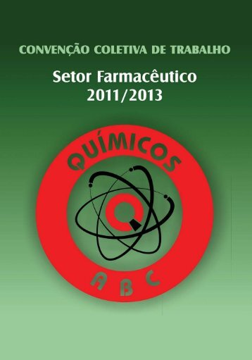 Download Convenção Coletiva 2011/2013 - Setor Farmacêutico