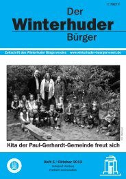 Zeitung-Heft 5 - Winterhuder Bürgerverein