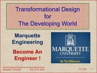 Transformational Design for the Developing World ... - Mechatronics