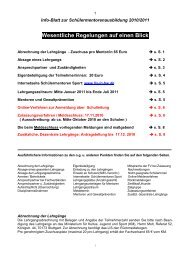 Infoblatt-2010/2011 HIER downloaden!