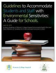 Guidelines to Accommodate Students and Staff with ... - casle