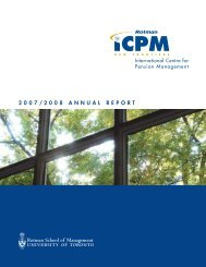 2007/2008 Annual report - International Centre for Pension ...