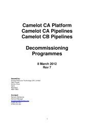 Camelot Decommissioning Plan Rev 7 - Helix Energy Solutions