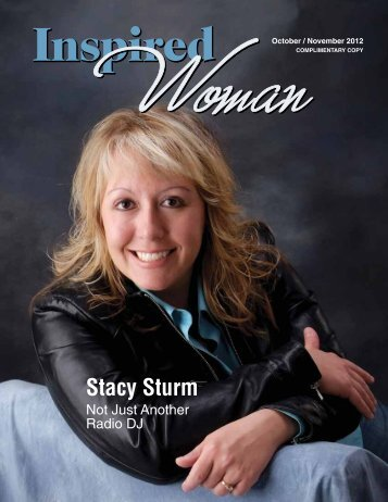 Stacy Sturm - Inspired Woman Magazine