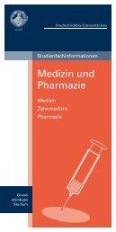 Medizin, Zahmedizin, Pharmazie - Schueler.uni-jena.de