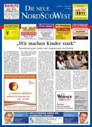 Ausgabe 05 vom 28.09.2010 - Die neue NordSüdWest