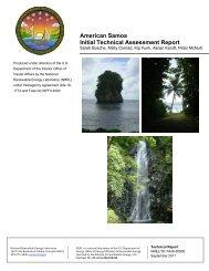 American Samoa Initial Technical Assessment Report - NREL