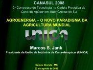 agroenergia - o novo paradigma da agricultura mundial - OPEC