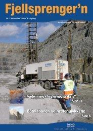 Fjellsprengern Nummer 1_2005.pdf - Orica Mining Services
