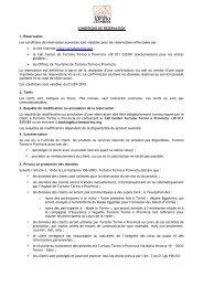 CONDITIONS DE RESERVATION 1. Réservation ... - Turismo Torino