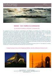 Istanbul novembre 2011 - Maison de l'Architecture