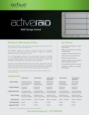 RAID Storage Evolved