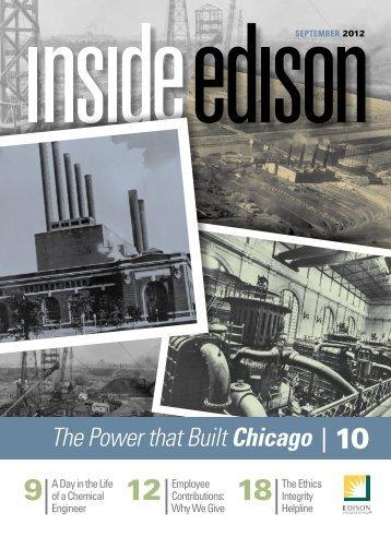 sePTemBeR 2012 - Inside Edison - Edison International
