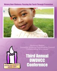 Third Annual OWDVCC Conference