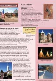 Southwest Adventures - Adventure Tours by Travel Dream West