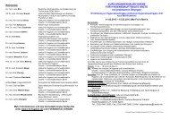 vorläufiges Programm - Nationales Referenzzentrum für ...