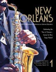 New Orleans Program, Vol. 1 - National Science Teachers Association