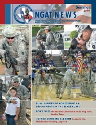 Summer 2010 - National Guard Association of Texas