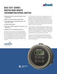 DSG-12 10-09 - Altronic Inc.
