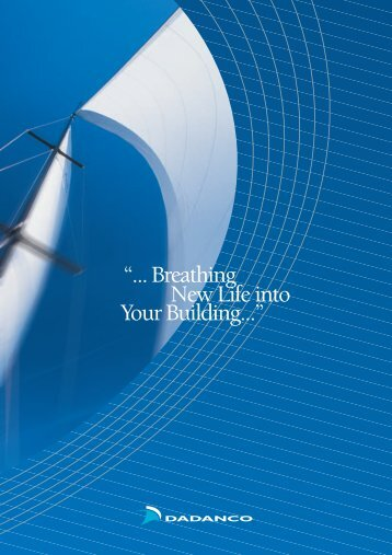 """... Breathing Your Building..."" New Life into - Dadanco"