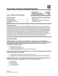 Allergen Immunotherapy – (0405)