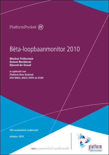 Bèta-loopbaanmonitor 2010 - Kivi Niria