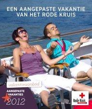 Aangepaste Vakanties 2012 - Rode Kruis-Vlaanderen