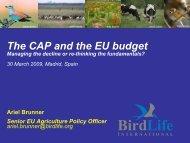 The CAP and the EU budget - WWF