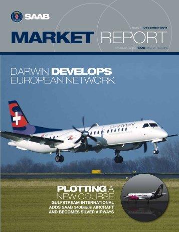 Darwin develops european network - Saab Aircraft Leasing