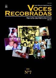 Memoria - Asociación de Historia Oral de la República Argentina