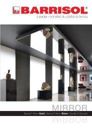Télécharger la brochure Mirroir (PDF, 1 Mo) - Barrisol