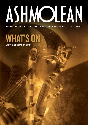 What's On Soon - The Ashmolean Museum