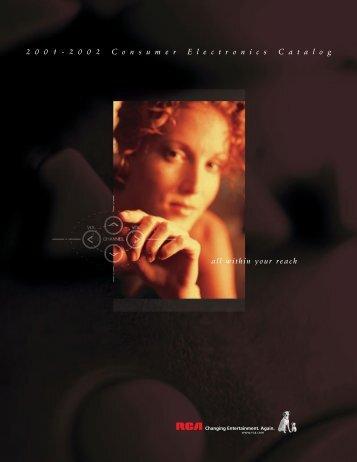 2001 RCA catalog