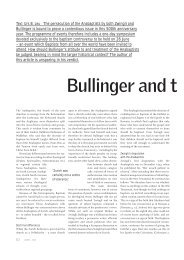 Bullinger and t - Mennonite Church USA Historical Committee and ...