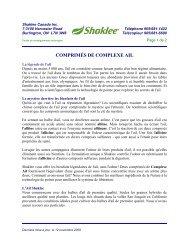 comprimés de complexe ail - France Valiquette