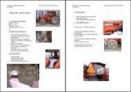 Valmet 705 – traktorin käyttö