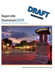 Naperville Downtown2030 - City of Naperville