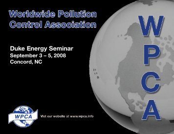 Impact of Combustion on Particulate Collection - Wpca.info